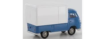 VW T1b Großraumkoffer, blau/weiß in TD (32451)
