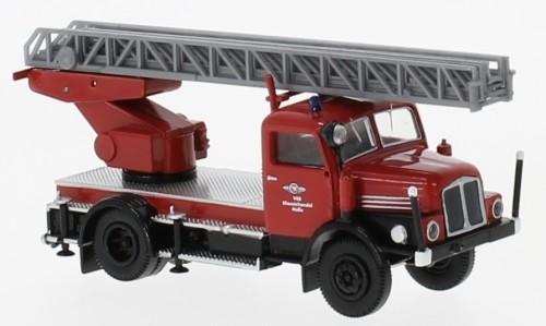 """Brekina IFA S 4000-1 DL 25 """"Werkfeuerwehr Chemie Halle"""" (71732)"""