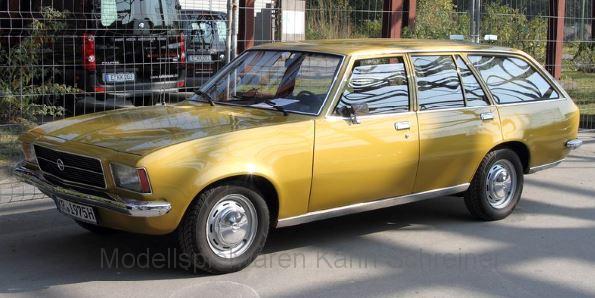 PCX87 Opel Rekord D Caravan gold (870023)