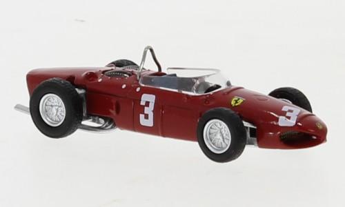 "Brekina: Ferrari F 156 rot No.3 Formel 1 ""R. Rodriguez"" (1961) (22991)"