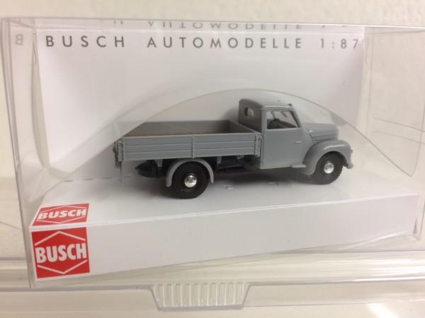 Busch Framo V901/2 Pritschenwagen grau (52301)