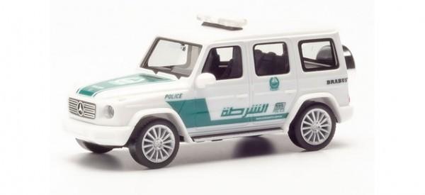 "Herpa Mercedes G-Klasse ""Polizei Dubai"" (VAE) (095082)"