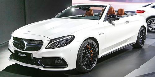 Minichamps: Mercedes AMG C 63 C-Klasse Cabrio weiß (870037031)