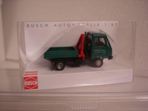 Multicar mit Pritsche und Kran (42221)