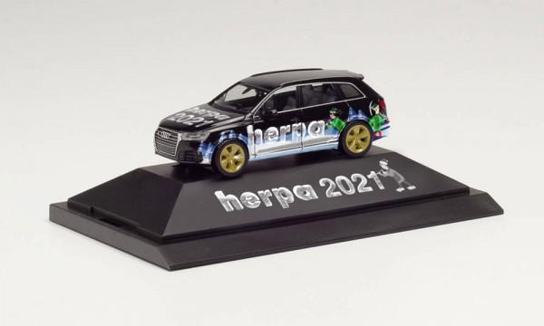 """Herpa: Audi Q7 """"Herpa Weihnachts-PKW 2021"""" (102179)"""