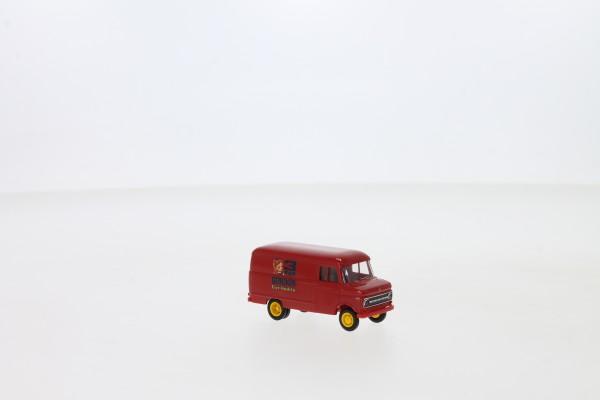 """Brekina Opel Blitz B Kastenwagen """"3 Glocken Eiernudeln"""" (35722)"""