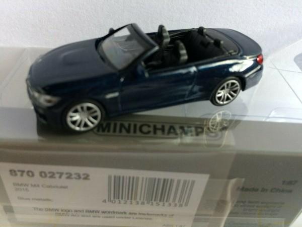 BMW M4 Cabriolet (2015) blau-met. (870027232)