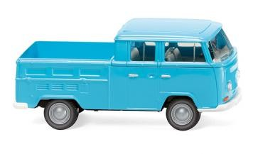 Wiking VW T2 Doppelkabine eisblau (031404)