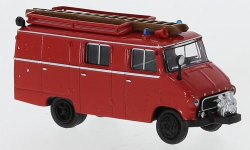 "Brekina Opel Blitz LF 8 rot/schwarz ""Feuerwehr"""
