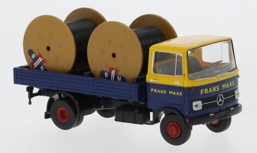 "Brekina Mercedes LP 608 ""Frans Maas"" (NL) mit Kabeltrommeln (48580)"