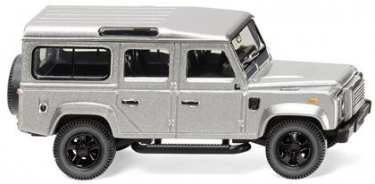 Wiking Land Rover Defender 110 silber-metallic (010203)