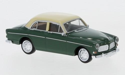 Brekina Volvo Amazon dunkelgrün/beige 4trg (29228)