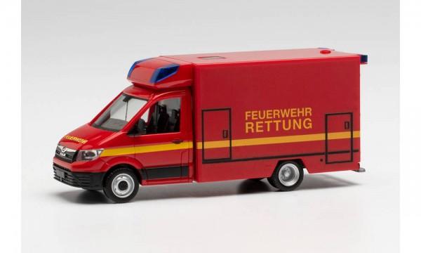 """Herpa MAN TGE Fahrtec RTW """"Feuerwehr"""" (096232)"""