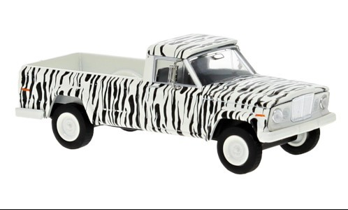 "Brekina: Jeep Gladiator A (1964) weiß ""Safari"" (19817)"