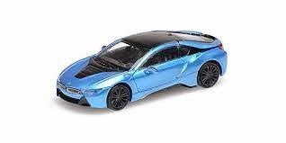 Minichamps: BMW i8 Coupe (2015) blau-met. (870028224)