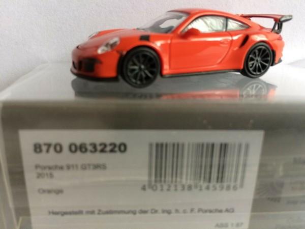 Porsche 911 GT3 RS (2015) orange (870063220)