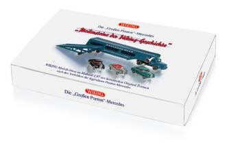 """Wiking Set """"Die Großen Ponton - Mercedes"""" (099098)"""