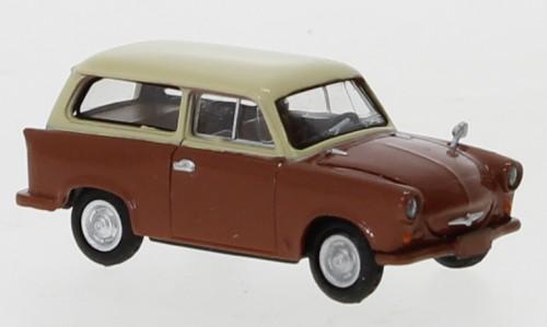 Brekina Trabant P 50 Kombi braun/hellbeige (27554)