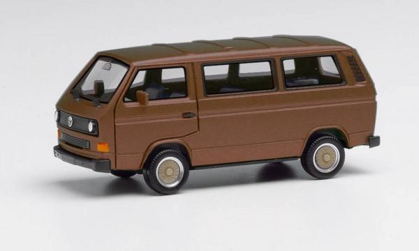 Herpa: VW T3 Bus mit BBS-Felgen broncebeige metallic (430876-002)