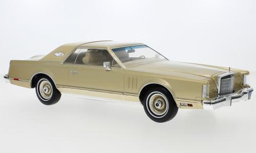 MCG Lincoln Continental Mark V (1978) gold (18216)