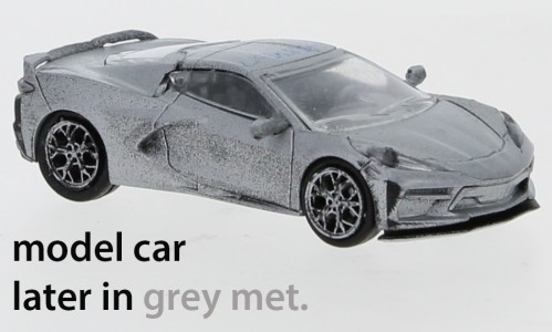 PCX87 Chevrolet Corvette C8 (2020) grau-met. (870210)