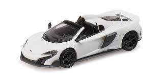 Minichamps: McLaren 675 LT Spider silica white (870154430)