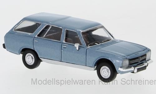 PCX87 Peugeot 504 Break hellblau-met. (870024)