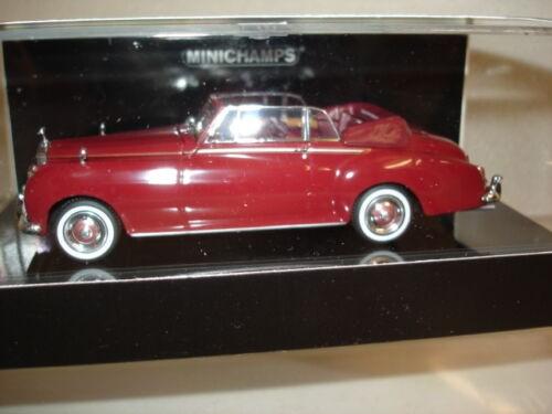 Minichamps Rolls-Royce Silver Cloud II Cabriolet (1960), rot in PC (436134930)