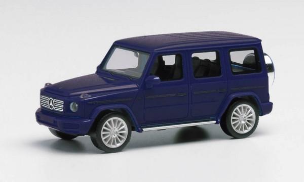 Herpa Mercedes G-Klasse AMG Felgen cavanstblau-met. (430760-002)