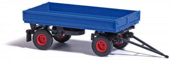 Busch IFA-Anhänger HW 60 ohne Kippgestänge und Hochdruckreifen blau (53001)