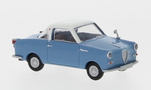 Brekina Goggomobil Coupe blau/weiß (27850)