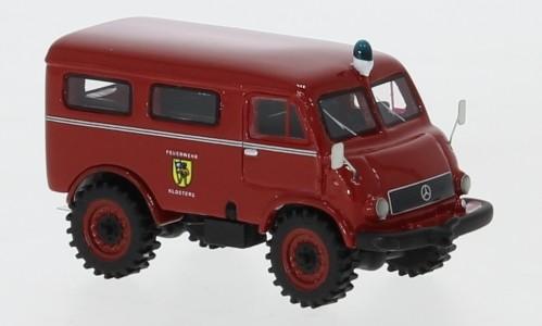 """BoS Mercedes Unimog 402 (1956) """"Feuerwehr Klosters"""" (87755)"""