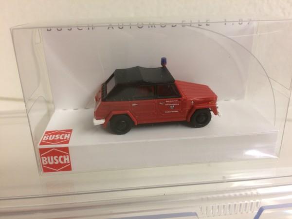 """Busch VW 181 Kurierwagen """"Feuerwehr Hemsbach"""" (52717)"""