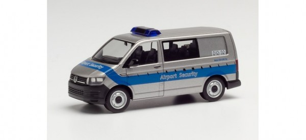 """Herpa VW T6 Bus """"Fraport / Airport Security"""" (095235)"""