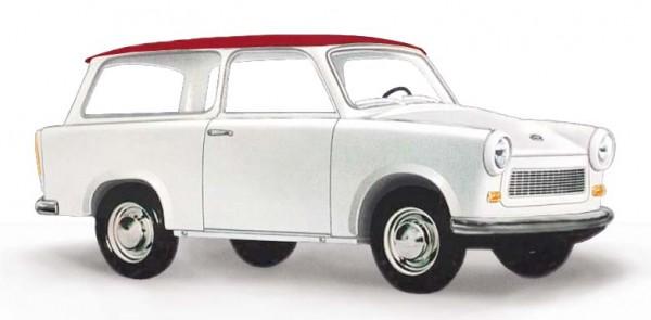 """Busch: Trabant P601 Universal Kombi """"de Luxe"""" weiß (53209)"""