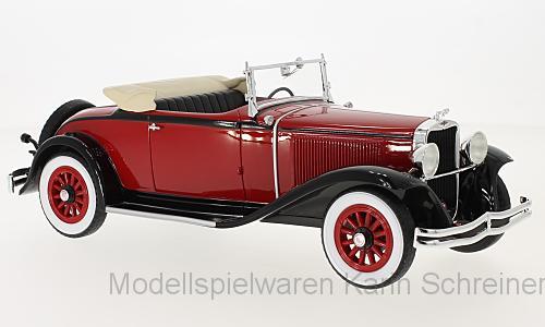 Dodge Eight DG Cabrio (1931) dunkelrot/schwarz (BoS293)