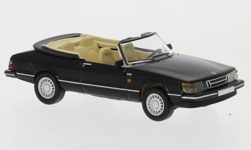 PCX87 Saab 900 Cabriolet schwarz (870124)