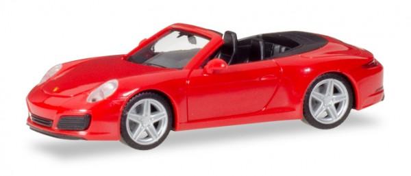 Porsche 911 Carrera 2 Cabrio indischrot (028844)