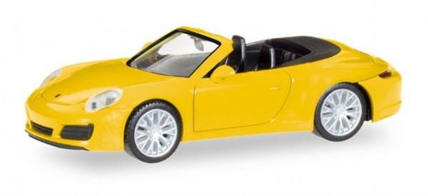Porsche 911 Carrera 4S Cabrio racinggelb (028899)