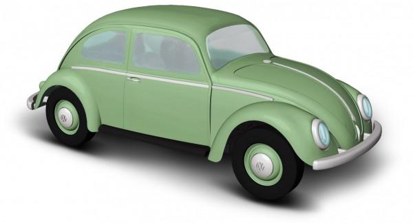 Busch VW Käfer Ovalfenster grün (52952)