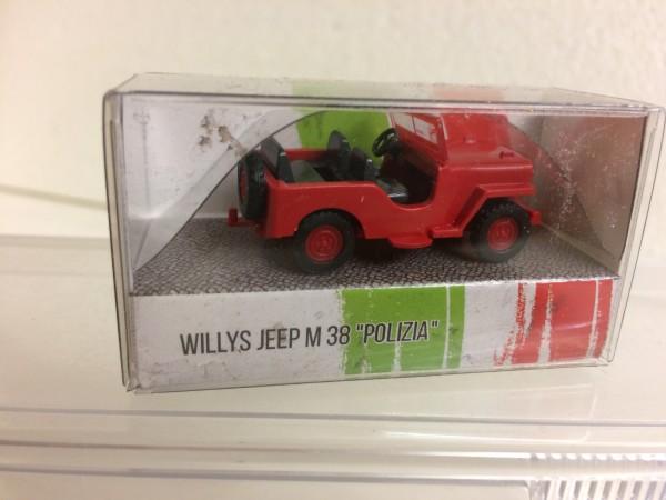 """Wiking Willys Jeep M38 """"Polizia di Strato"""""""