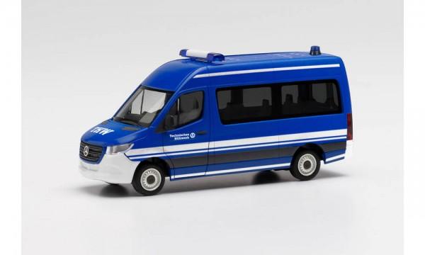"Herpa MB Sprinter ´18 Bus HD ""THW"" (096201)"