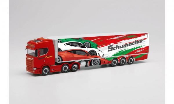 """Herpa Scania CS 20 HD Kühlkf.-Sz. """"Schumacher Würselen"""" (313643)"""