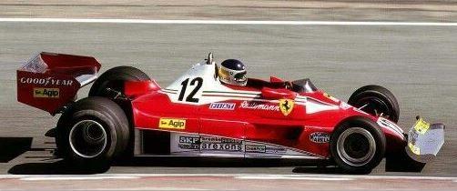 "MCG Ferrari 312 T2B, No.12, Scuderia Ferrari SpA SEFAC Formel 1 ""C.Reutemann"" (1977)"