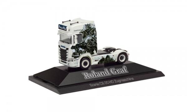 "Herpa: Scania CS 20 HD Zugmaschine ""Roland Graf"" (111089)"