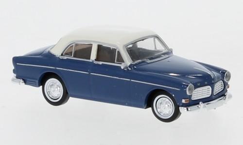 Brekina: Volvo Amazon (1956) blau/weiß 4trg (29239)