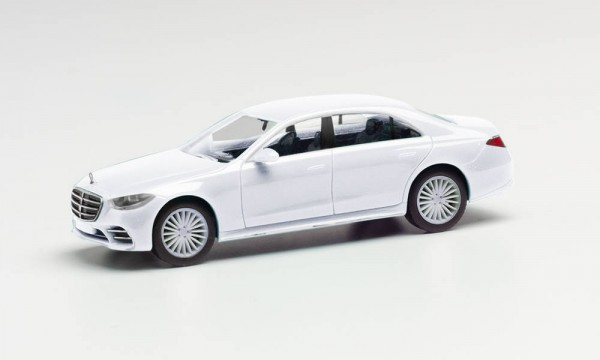 Herpa: Mercedes-Benz S-Klasse weiß (420907-002)