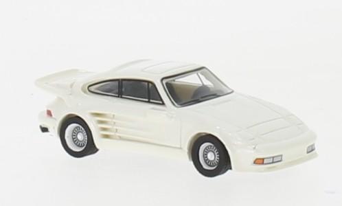 BoS: Porsche 911 Turbo Gemballa Avalanche (1986) metallic-weiß (87656)