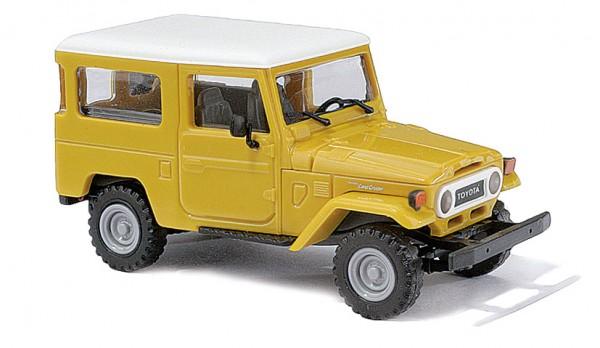 Busch Toyota Land Cruiser J4 gelb (43034)