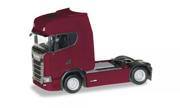 Herpa: Scania CS 20 HD Zgm. mit Sonnenblende rubinrot (306768-003)